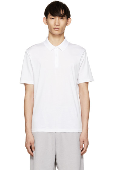 T by Alexander Wang - White Cotton Polo