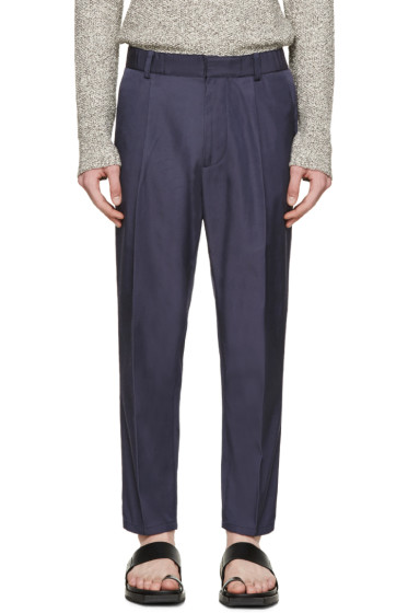 Robert Geller - Navy Louis Trousers