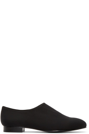 Opening Ceremony - Black Neoprene Charly Loafers