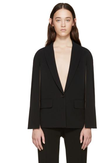 Givenchy - Black Cape-Style Blazer