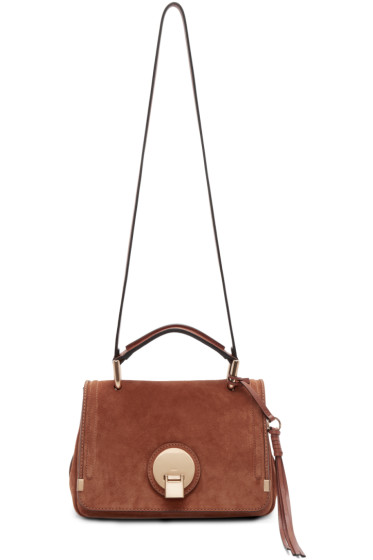 Chloé - Brown Suede Small Indy Bag