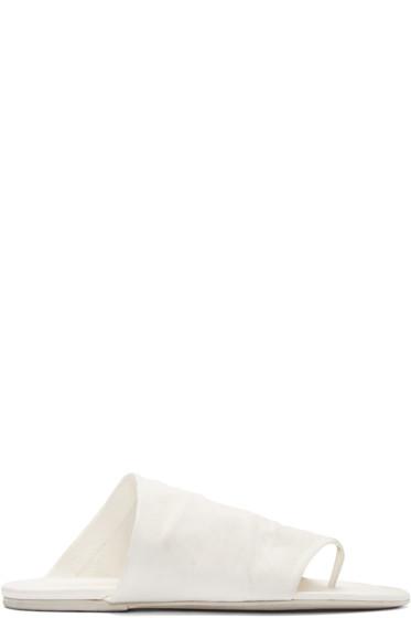 Marsèll - White Arsella Sandals