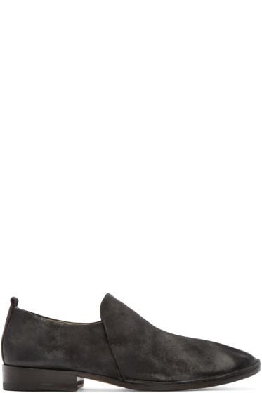 Marsèll - Black Suede Marsacco Loafers