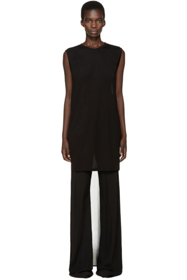 Gareth Pugh - Black Droptail T-Shirt