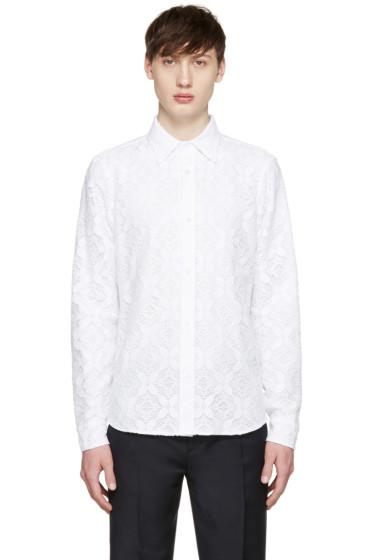 Burberry Prorsum - White Lace Shirt