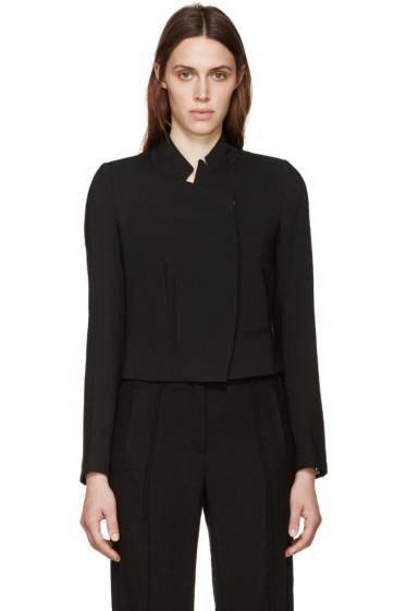 Ann Demeulemeester - Black Button Waldo Jacket