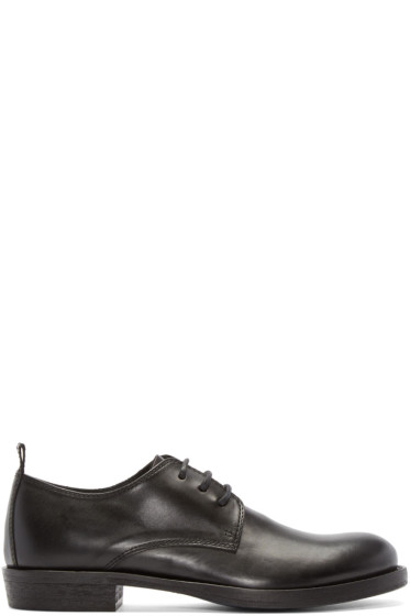 Ann Demeulemeester - Black Leather Derbys