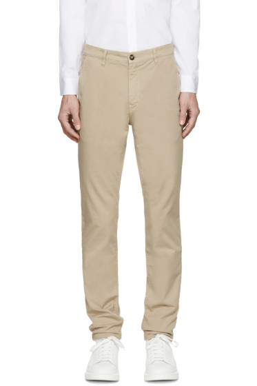 Kenzo - Beige Small Tiger Classic Trousers
