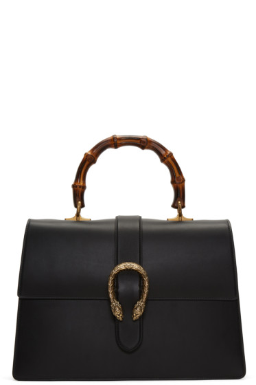 Gucci - Black Large Dionysus Bag