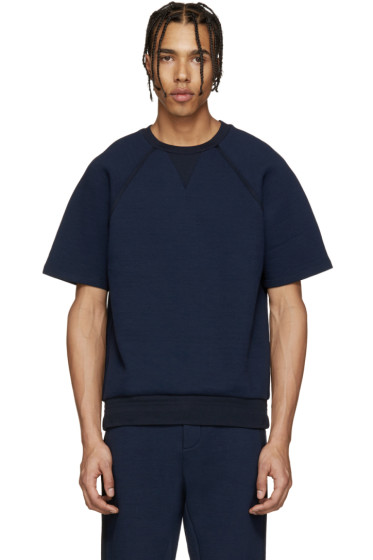 Umit Benan - Navy Scuba Jersey Pullover