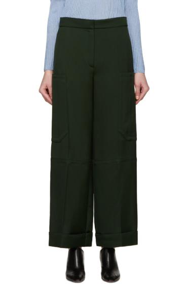 Nina Ricci - Green Twill Trousers