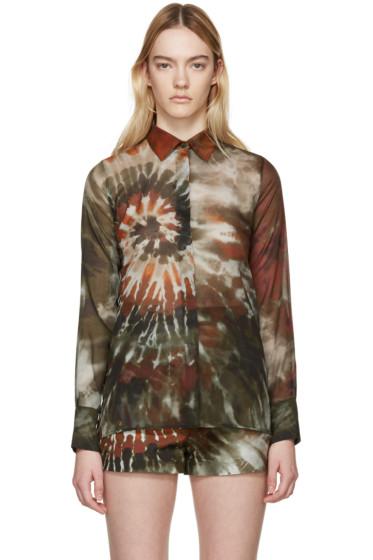 Valentino - Multicolor Tie Dye Shirt
