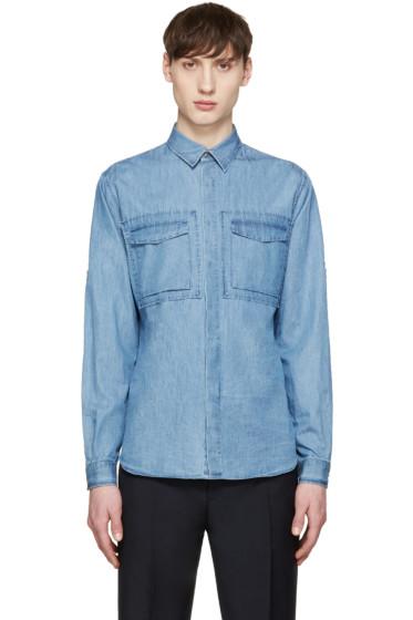 Valentino - Blue Denim Shirt