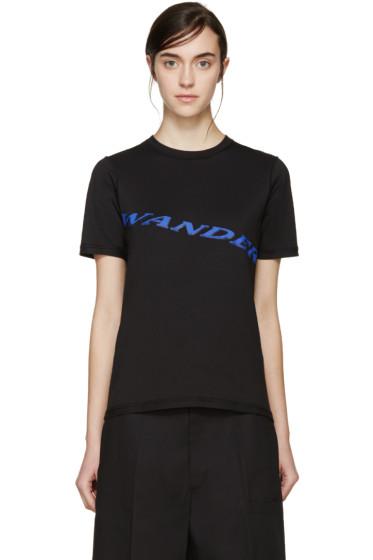 Yang Li - Black 'Wander' T-Shirt