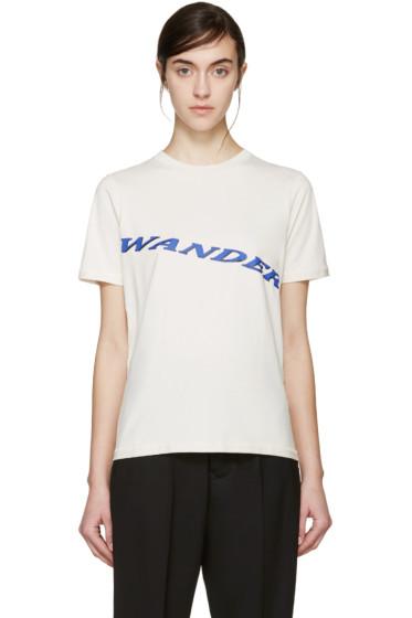 Yang Li - Beige 'Wander' T-Shirt