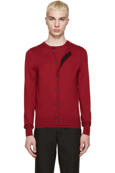 Yang Li - Red Knit Twin Set