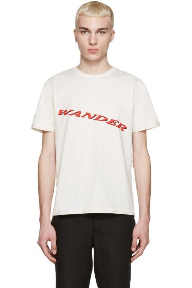 "Yang Li - Off-White ""Wander"" T-Shirt"