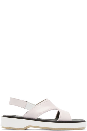 Adieu - Pink Leather Type 43 Sandals