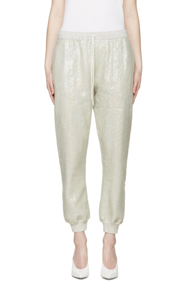 Ashish - Green Sequin Lounge Pants