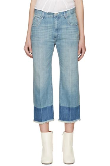 Isabel Marant Etoile - Blue Cropped Pryam Jeans