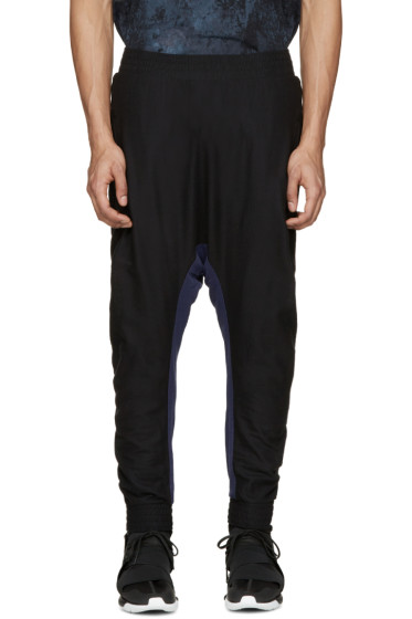 11 by Boris Bidjan Saberi - Black & Blue Knit Lounge Pants