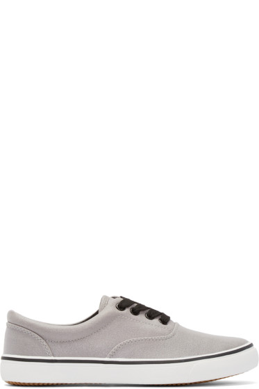 Johnlawrencesullivan - Grey Canvas Sneakers