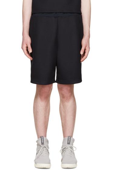 Undecorated Man - Navy Mesh Bubble Shorts