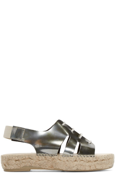 Prism - Silver Palawan Sandals