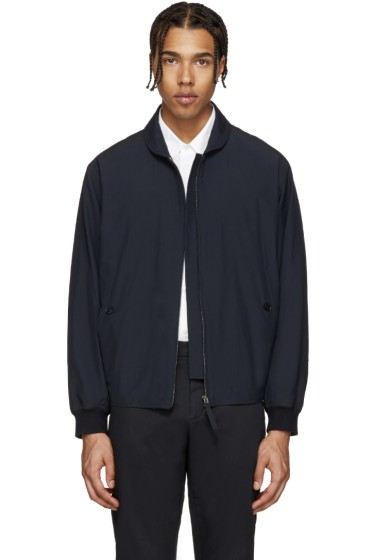 Lemaire - Navy Zip-Up Jacket