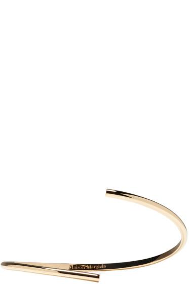 Maison Margiela Fine Jewellery - Gold Split Alliance Bracelet