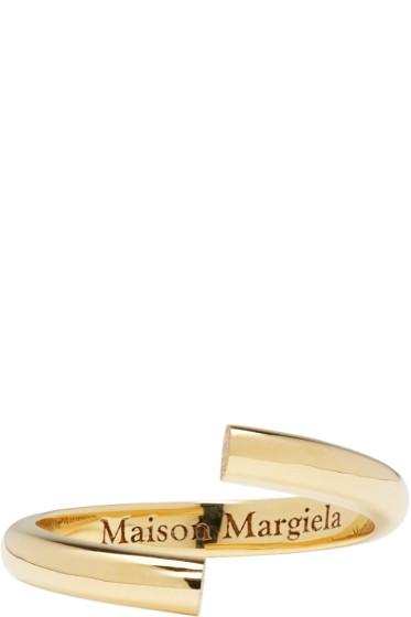 Maison Margiela Fine Jewellery - Yellow Gold Alliance Split Ring