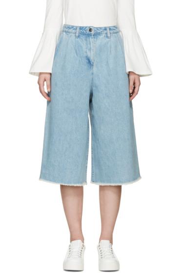Edit - Blue Denim Culottes