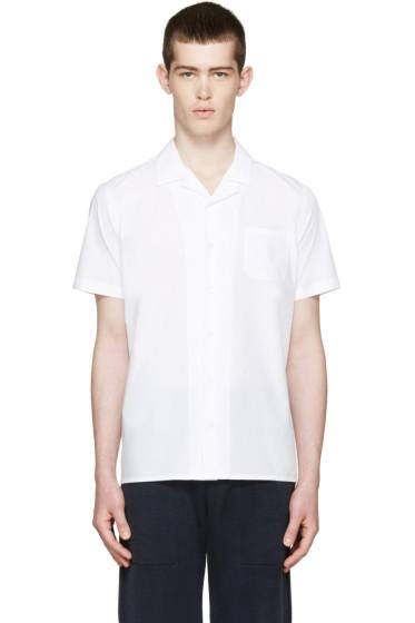 Fendi - White Poplin Shirt