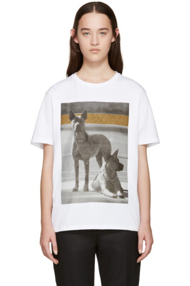 Palm Angels - White Dogs T-Shirt