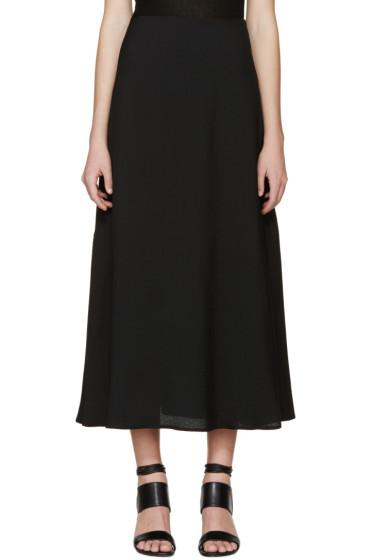 Rosetta Getty - Black Flared Skirt