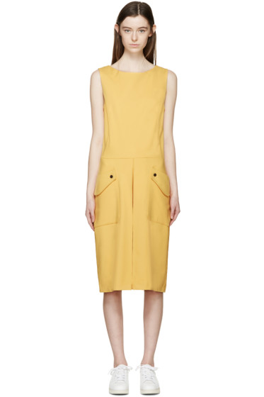 Aalto - Yellow Tailored Jumpsuit