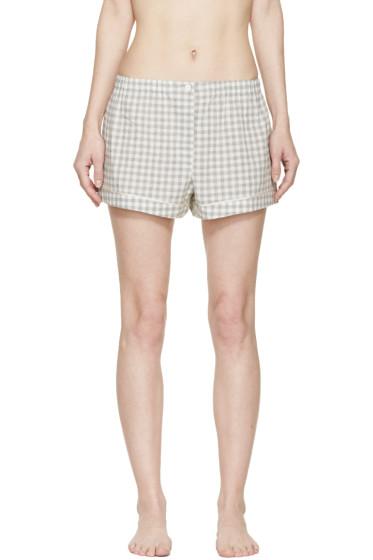 Araks - Grey Gingham Pyjama Tia Shorts