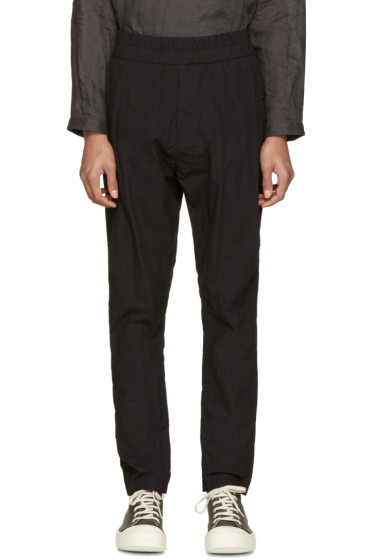 NILøS - Black Drop Crotch Trousers