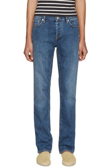 Burberry Brit - Blue Straight Jeans