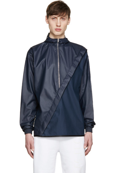 Cottweiler - Navy Hooded Pure Jacket