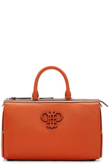 Emilio Pucci - Orange Leather Logo Bag