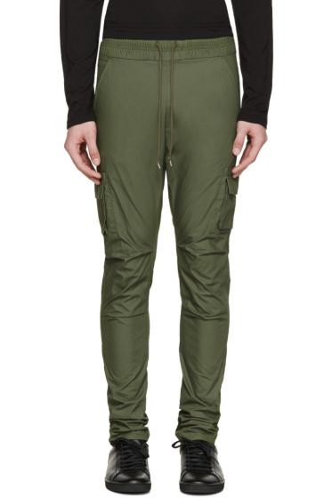 John Elliott - Green Cargo Trousers