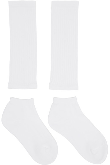 Hyke - White Separate Socks