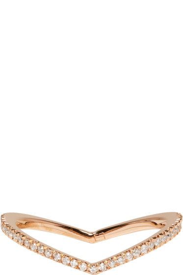 Eva Fehren - Rose Gold Diamond Private Ring