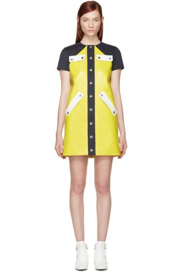 Courrèges - Yellow Patent Mini Dress