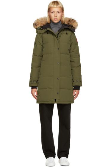 Canada Goose - Green Down Shelburn Jacket