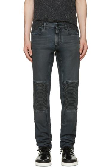 Belstaff - Black Coated Overdyed Jeans