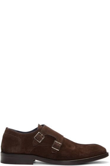 Tiger of Sweden - Brown Harry Monkstraps