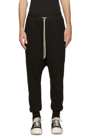 Rick Owens Drkshdw - Black Prisoner Lounge Pants