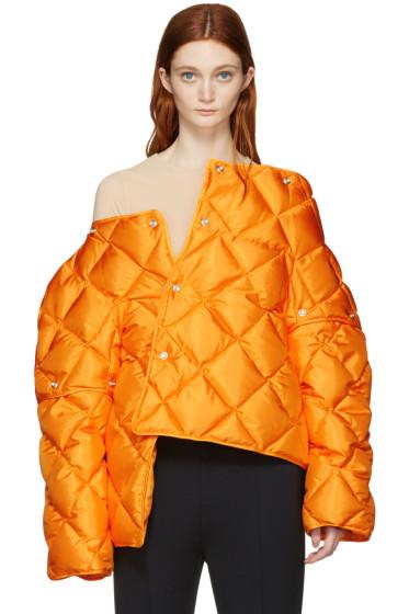 Acne Studios - Orange Down Bobbi Jacket